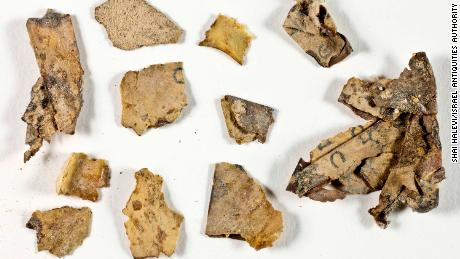 Dead Sea Scroll fragments found in desert cave