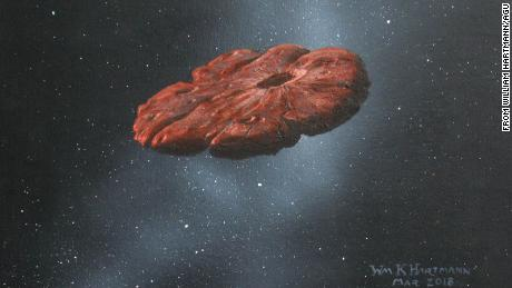 The interstellar object ʻOumuamua may be a fragment of a planet similar to Pluto