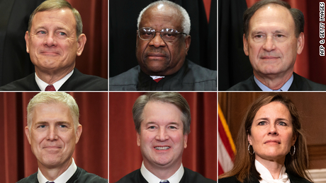 Major 6-3 Decisions Clearly Signaled Supreme Court's Right Turn