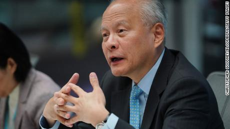 China's ambassador to the US says he has not held high expectations;  Biden to Alaska Summit with Officials