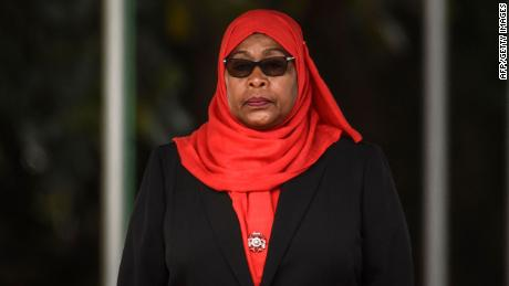 Tanzanian president ditches late predecessor's rejection of masks