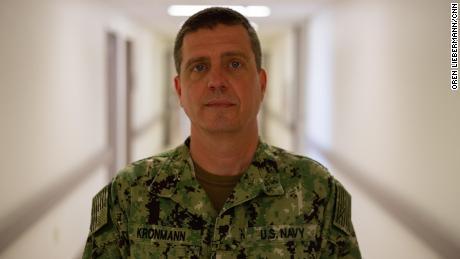 Karl Kronmann, Medical Director of Immunization at Naval Medical Center Portsmouth.