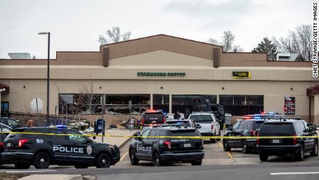 Witnesses describe chaos as shooter opened fire in a Colorado grocery store