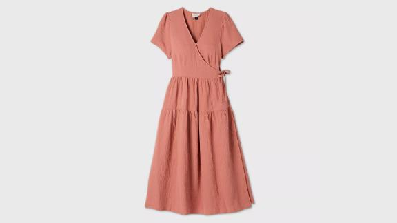 Universal Thread Short Sleeve Wrap Dress