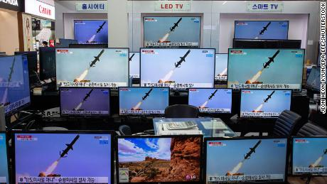 North Korea fires two ballistic missiles, says senior US official