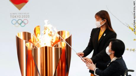 Osaka removes Olympic Torch Relay from public road as it declares a state of emergency amid Covid-19 wave