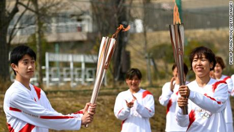 The Olympic Torch Relay has been making its way through the country since 25 March.