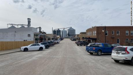 What happened to two small South Dakota towns after Biden revoked Keystone XL pipeline permits?