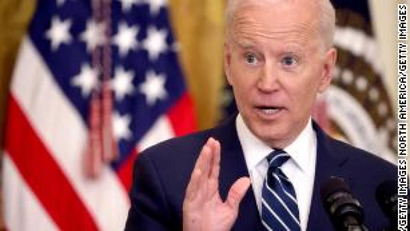 Biden says US faces battle to 'prove democracy works'