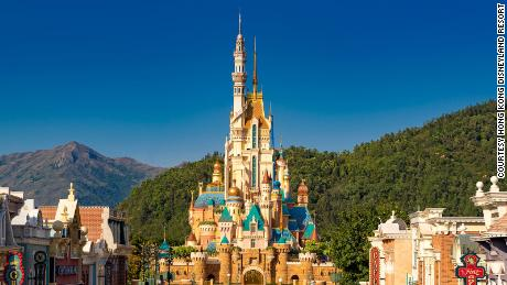 Hong Kong Disneyland's new castle is an architectural vision of diversity