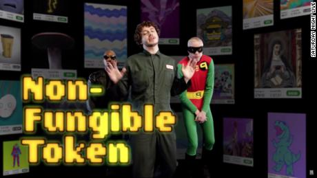 Still not sure what NFTs are?  & # 39;  SNL & # 39;  explains with parody of Eminem