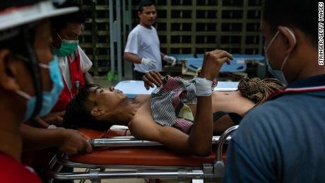 Anguish in Myanmar after the weekend;  Outrageous & # 39;  Bloodshed