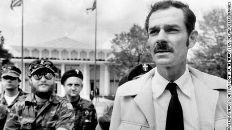 Glenn Miller in Raleigh, North Carolina, on April 17, 1984.