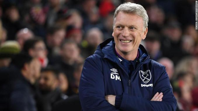 David Moyes on West Ham's chase for Champions League football