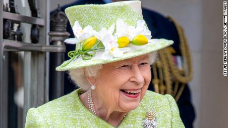 The Queen stepped out for her first in-person engagement this year on Wednesday.