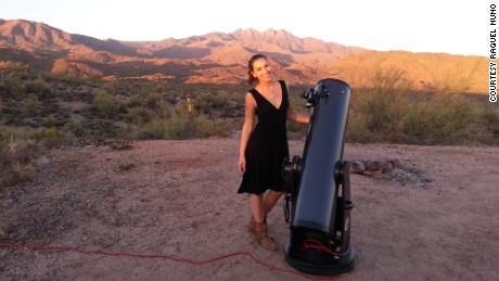 Raquel Nuno has never stopped looking up. Now, she's a planetary geologist specializing in impact craters.