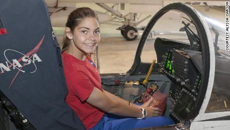 Alyssa Carson attended space camp multiple times and aims to be the first astronaut to go to Mars.