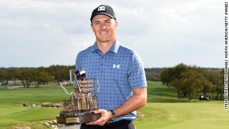 Spieth has ended a run of nearly four years without a victory.