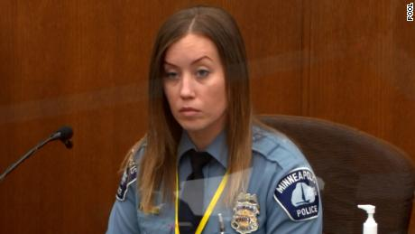 Officer Nicole Mackenzie first testified last week for the prosecution and retook the stand for the defense on Tuesday.