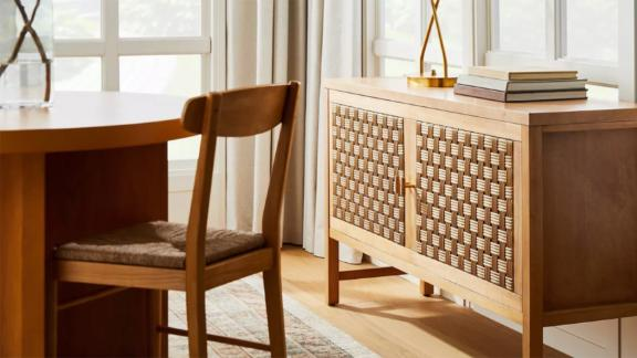 Threshold Designed with Studio McGee Palmdale Woven Door Console