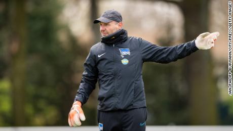 Goalkeeper coach Zsolt Petry was sacked by Hertha Berlin.