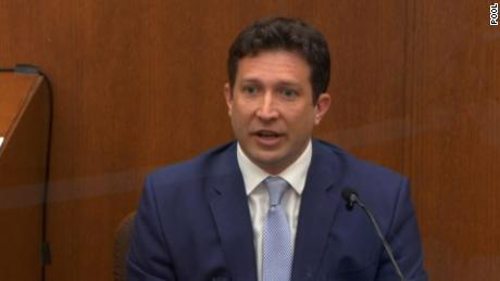 Dr. Jonathan Rich, a cardiologist, testified on Monday, April 12, 2021.