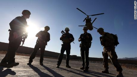 Senior general says US will maintain ability to launch air strikes in Afghanistan following troop withdrawal