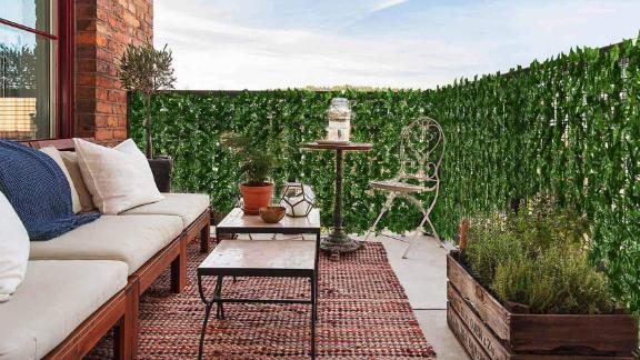 DearHouse Artificial Ivy Privacy Fence Screen
