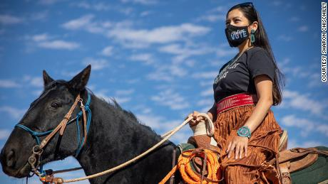 We saddled up to make sure Native Americans got to vote