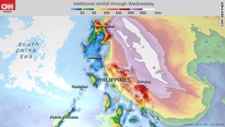 Super Typhoon Surigae (Typhoon Bising) continues to strengthen and could move dangerously close to the Philippines 1