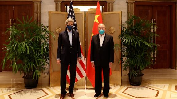 US Special Presidential Envoy for Climate John Kerry and China Special Envoy for Climate Change Xie Zhenhua held two days of meetings in Shanghai.