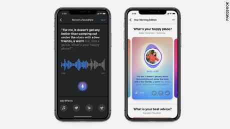 Facebook's audio clips feature is called Soundbites
