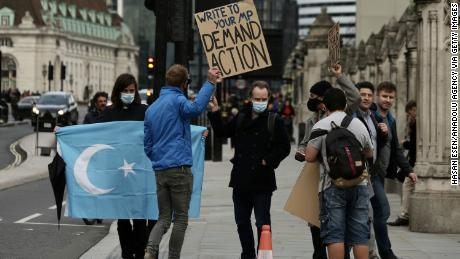 UK lawmakers declare China's treatment of Uyghurs is genocide