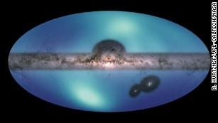 New Milky Way map reveals a wave of stars in our galaxy's outer reaches