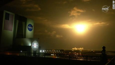 SpaceX rocket carrying four astronauts launches from Florida