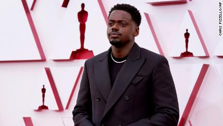 Daniel Kaluuya won the Oscar for Best Supporting Actor.  (AP Photo / Chris Pizzello, Pool)
