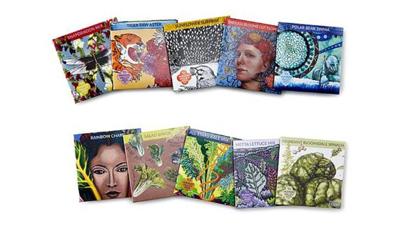 Artist's Garden Seed Kits