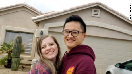 Erin and Kevin Lu bought a house in Phoenix after being outbid on a previous offer.