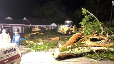 Damage reported in at least 3 cities after tornadoes tear through Mississippi