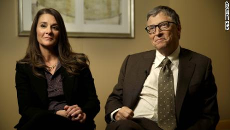 Bill and Melinda Gates in New York in January 2015.