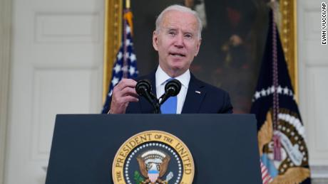 Biden tries to sell his agenda while Republicans go after their own
