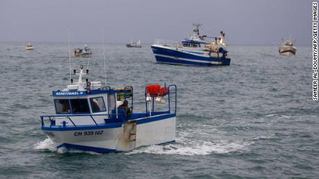 French boats off Jersey.  History shows that the fishing feuds between France and Britain have a habit of getting out of hand.