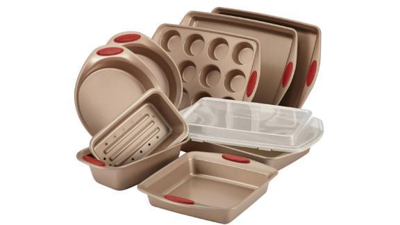 Rachael Ray Cucina 10-Piece Nonstick Bakeware Set