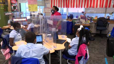 One school district wooed parents and students back with pandemic safety demos