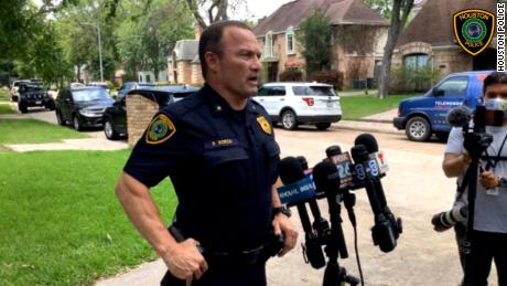 Man who fled with a tiger has been caught, but the animal is on the loose, Houston police say