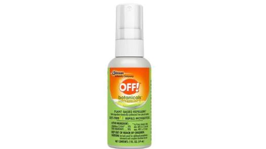 OFF! Botanicals Mosquito and Insect Repellent IV