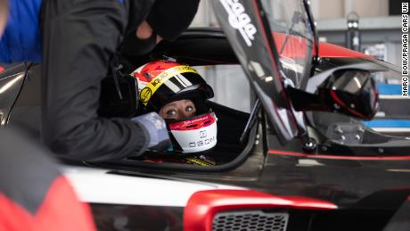 Martin hopes to make history by becoming the first transgender driver to compete in the 24 Hours of Le Mans.