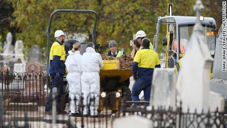 The Somerton man's remains were exhumed on May 19, 2021.
