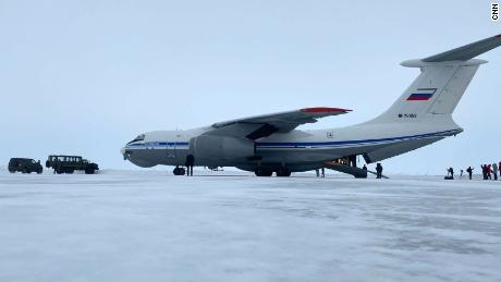 Even the fact that the four-engine Ilyushin Il-76 airlifter could land at all on the Franz Josef Land archipelago in the middle of the Arctic Ocean, is a testament to Moscow's growing military might.