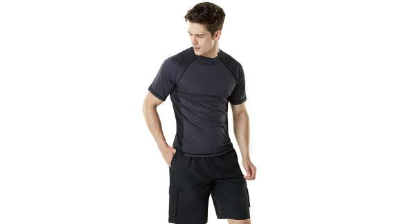 Tsla Rashguard Swim Shirt
